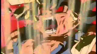 Goku virando Oozaru dourado em Português .wmv