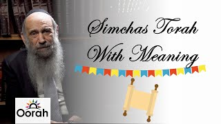 Simchas Torah - Breaking Down Walls | Rabbi Chaim Mintz