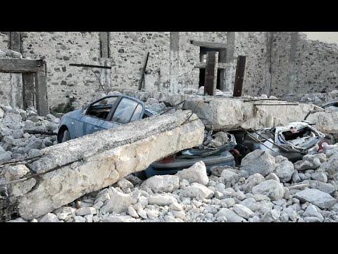 Sueco e turco morreram em terremoto na Grécia