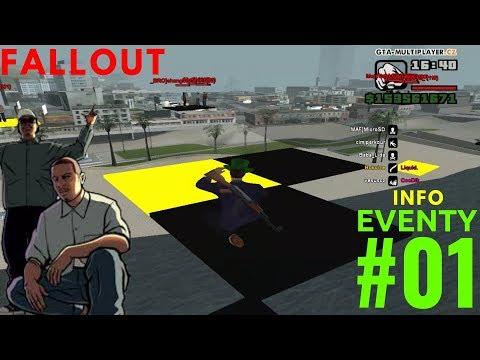 EVENTY #01 | FALLOUT | GTA SAMP - WTLS | CZ/SK