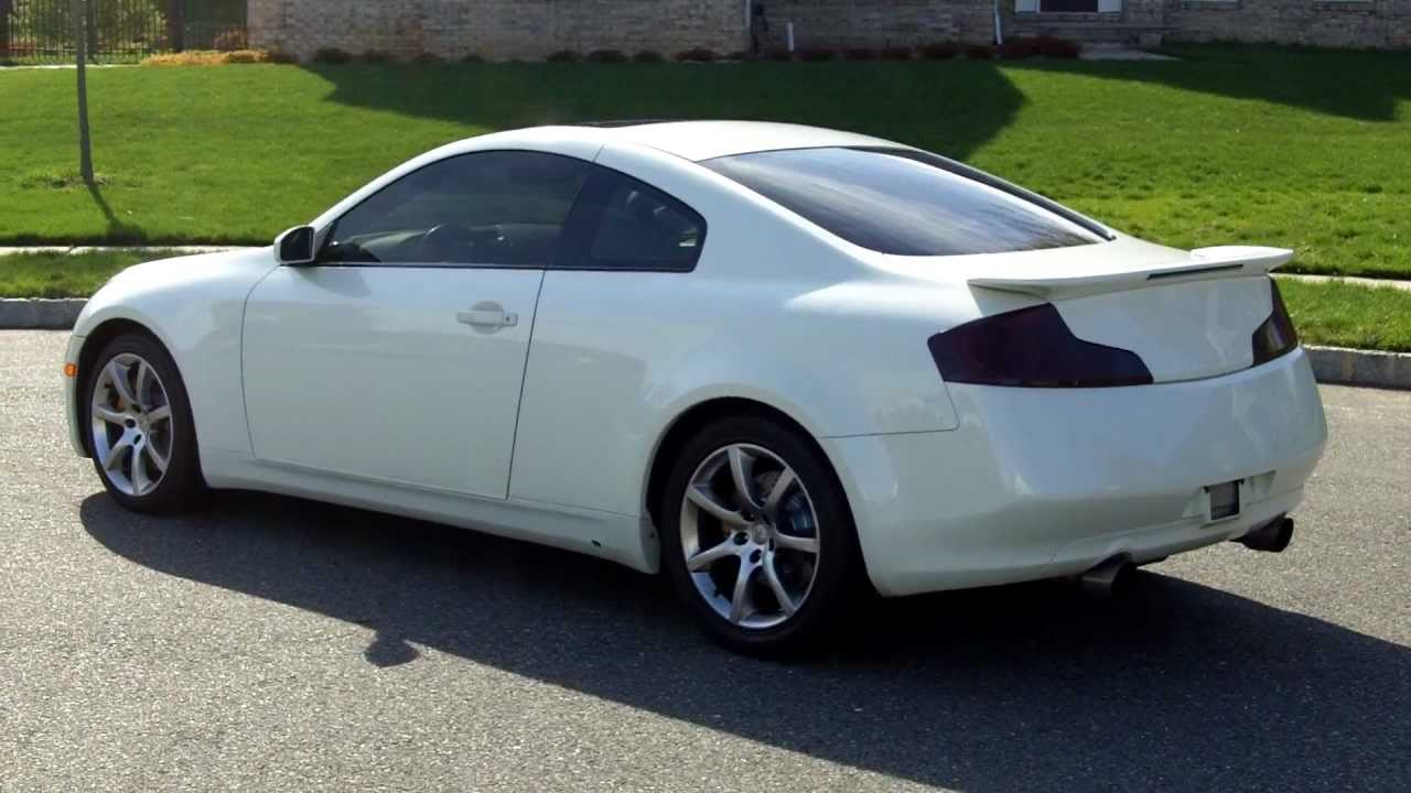 2003 Infiniti G35 Sport With Tastefully Done Mods  YouTube