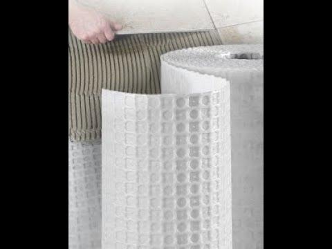 Strata Mat Installation | Laticrete | AHH Designs LLC