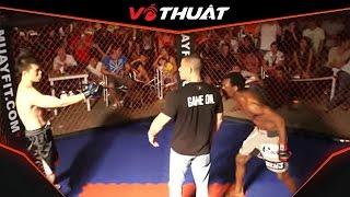Vịnh Xuân Quyền bị cao thủ MMA đánh sập mặt trong 20 giây