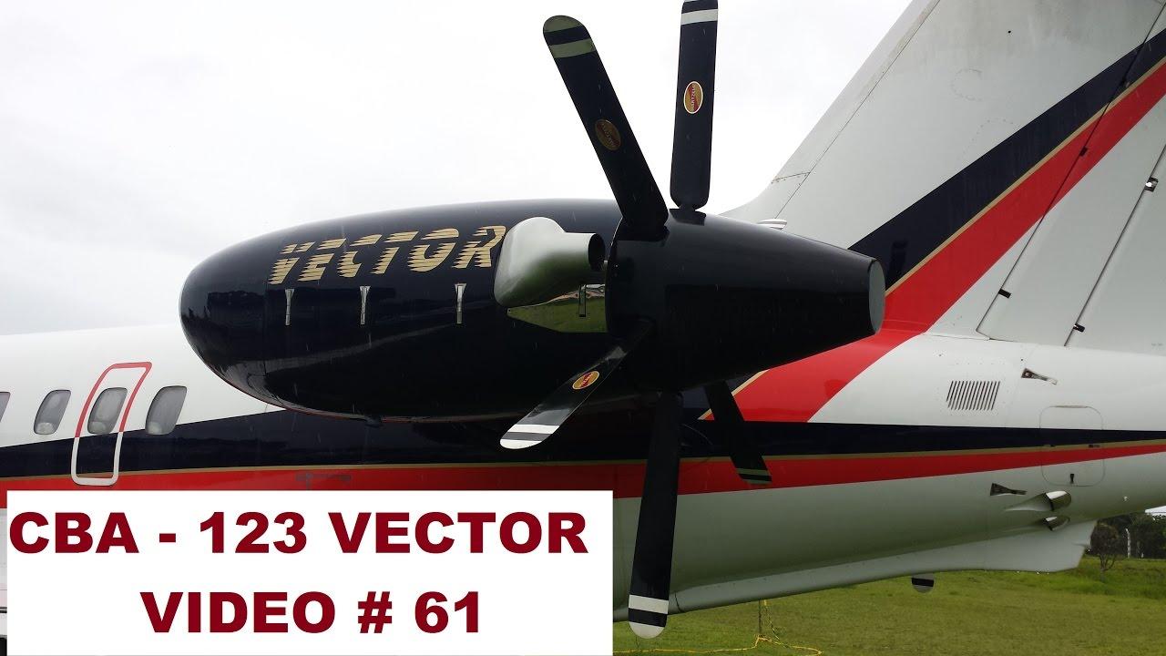 AVIÃO CBA 123 VECTOR - VÍDEO # 61 - YouTube