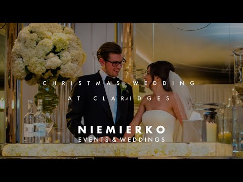 Charming wedding at Claridge's, Mayfair by London's luxury wedding planner Niemierko