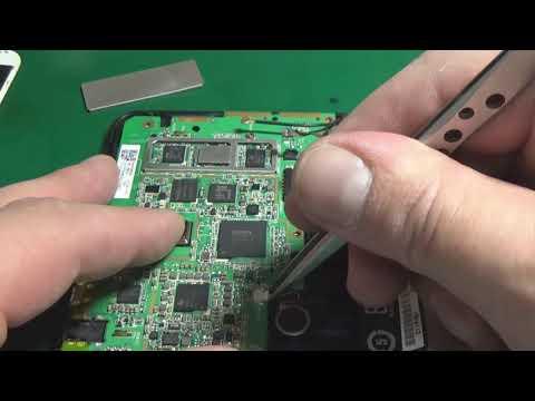 Замена EMMC на планшете ASUS Fonepad 7 K00Z (ME175CG). Восстановление IMEI