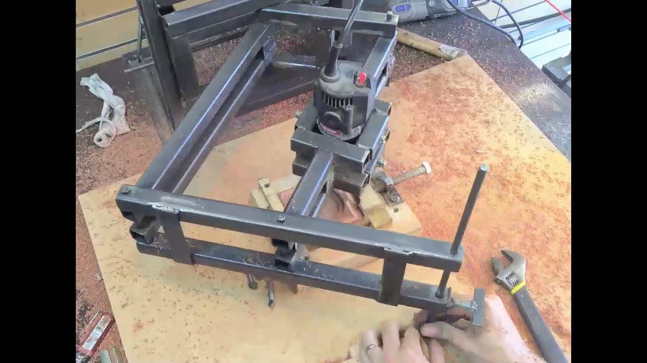 The Pantograph Router (Panto-router) - YouTube