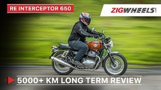Royal Enfield Interceptor 650 Long Term Review | Performance, real mileage, modification & more