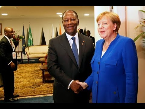 Merkel End smuggling and s lavery, create legal migration chances for Africans