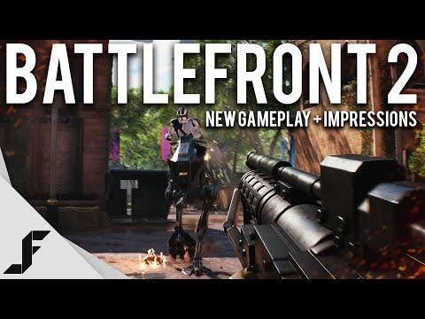 STAR WARS BATTLEFRONT 2 - Gameplay and First Impressions