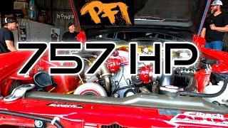 757HP PFI SPEED Dyno   EL DIABLO S2000