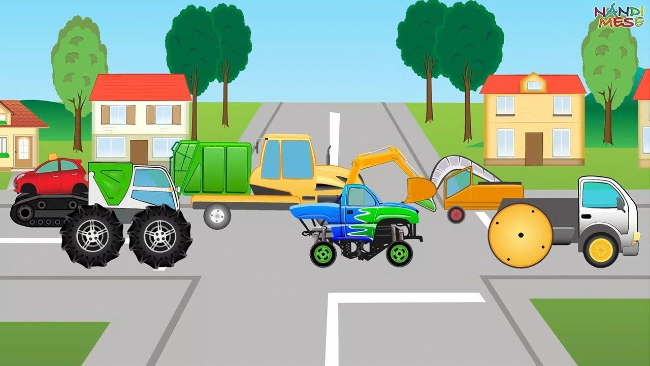 Összekuszált autók