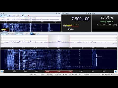 29 04 2018 North Korea Reform Radio in Korean to NEAs 2030 on 7500 Tashkent