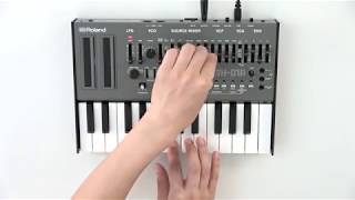 """""""Selecting a Patch"""" Roland SH-01A #01"""