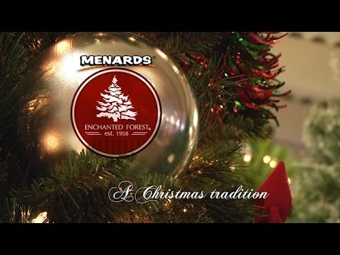 menards enchanted forest a christmas tradition
