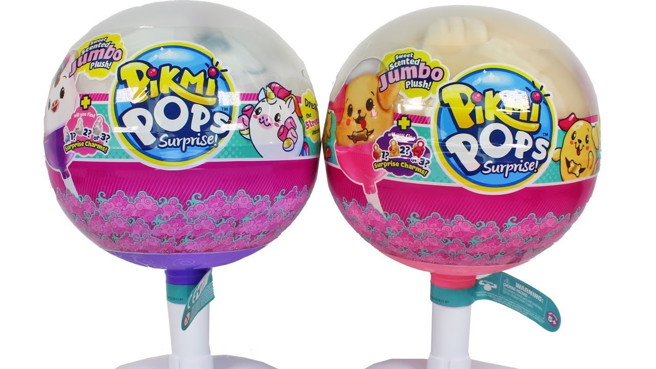 Pikmi Pops Jumbo Series 2 Dream The Stretchy Plush Unicorn Stuff Besar Season