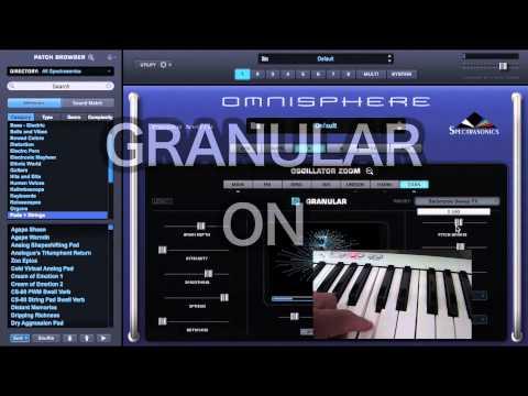 Spectrasonics Omnisphere 2 / Granular Synthesis