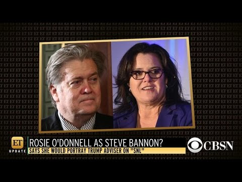 """Rosie O'Donnell wants to play Steve Bannon on """"Saturday Night Live"""""""