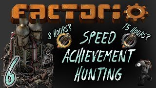 Factorio [0.17] | Speed Achievement Hunting Ep. 6 | Steel and Plastic
