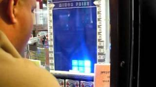Dave winning a Major Prize on his third game on Stacker