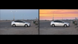 Cyberlink PhotoDirector 8 Magic Wand Tutorial Replace sky using Layers - Spoken step-by-step