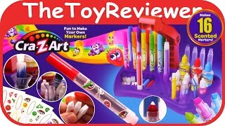 NEW Cra-Z-Art Scented Marker Creator Unboxing Toy Review by TheToyReviewer