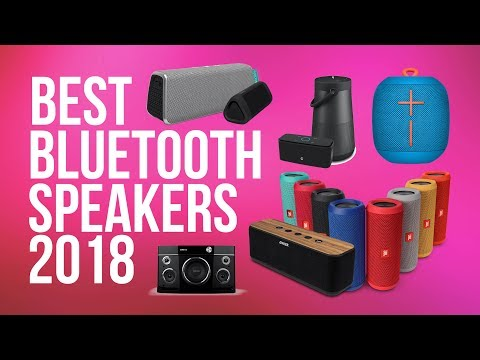 Best Bluetooth Speakers 2018 | Top 10 | Top Wireless Speakers