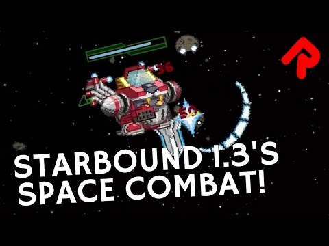 Starbound 1.3 space combat in mechs revealed! | Starbound 1.3 preview news