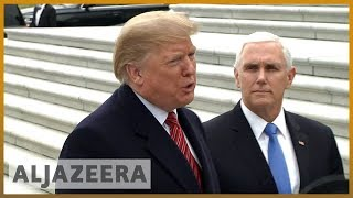 🇺🇸 US shutdown: Trump 'walks out' of meeting over border wall funds l Al Jazeera English