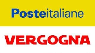 Poste italiane vergogna