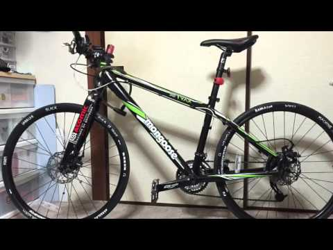 Mtb With Road Tires Youtube