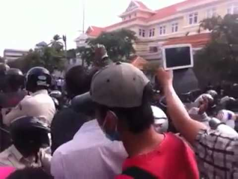 Anti Vietnam protest meets with violent suppression