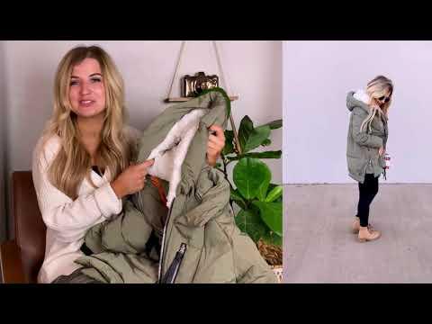 2020 New Model Amazon Winter Coat Haul & Review    Woman Winter Jacket
