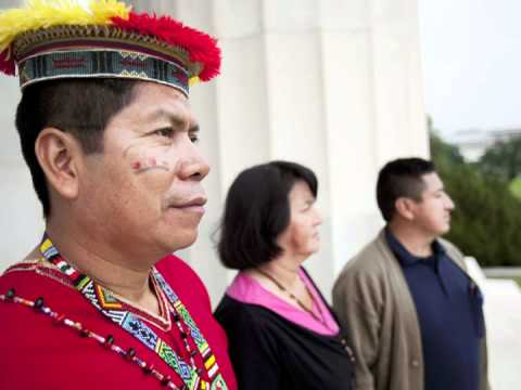 Delegation from Ecuadorian Amazon Demands Justice from Chevron
