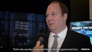 Nokia security center hosted dr. helge braun, state minister of the federal chancellor