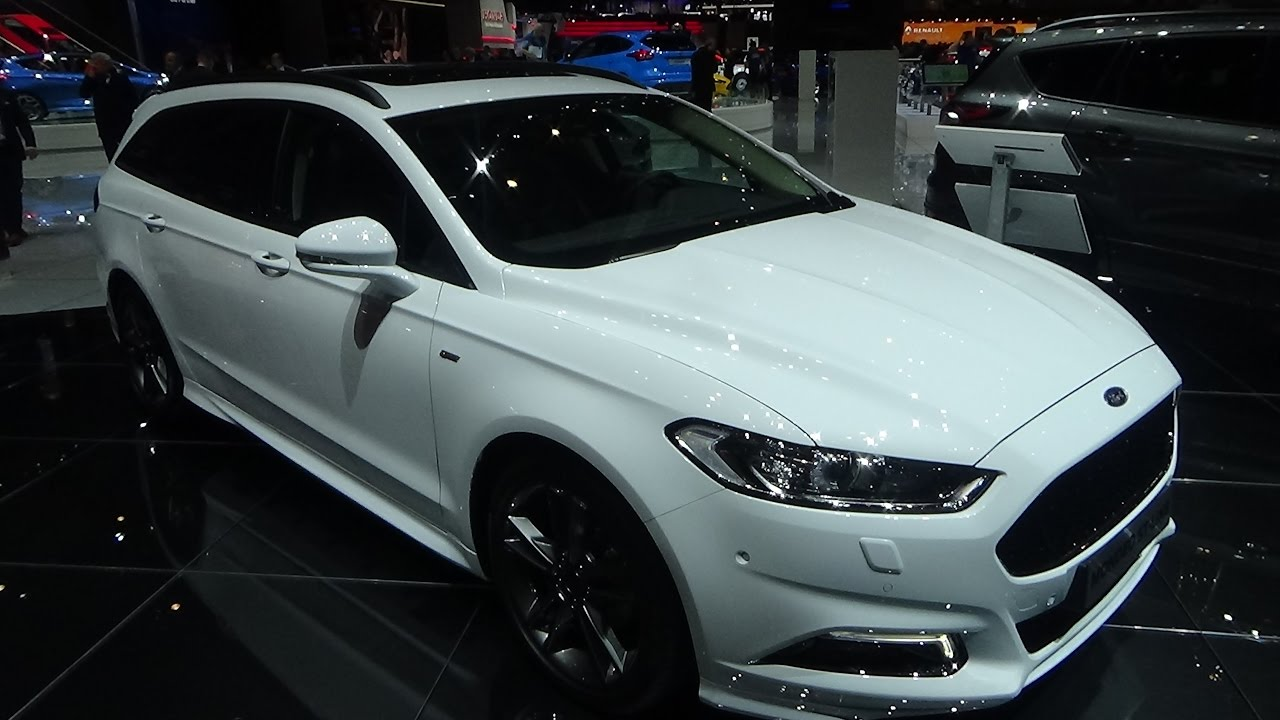2017 ford mondeo st line exterior and interior geneva. Black Bedroom Furniture Sets. Home Design Ideas