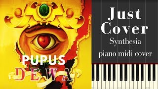 TUTORIAL PIANO DEWA 19 PUPUS SHEET MUSIC MANTAP JIWA
