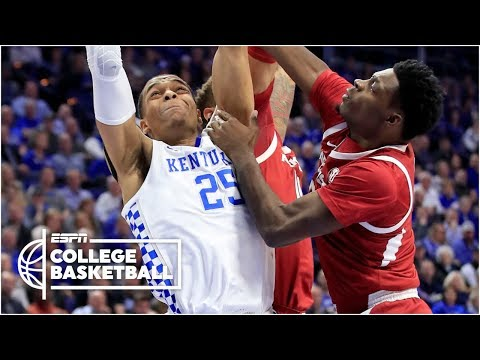 Kentucky comes back to win at home vs. Arkansas | College Basketball Highlights