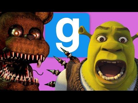Rejected FNAF Animatronics! | Gmod Sandbox Funny Moments