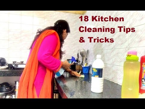 18 Tips for kitchen cleaning in rainy season | Useful Kitchen Tips & Tricks in Hindi  Indian Kitchen