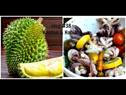 Where can you get Fresh Durian, Jack Fruit & Baby Octopus in the same place?  Vlog #38