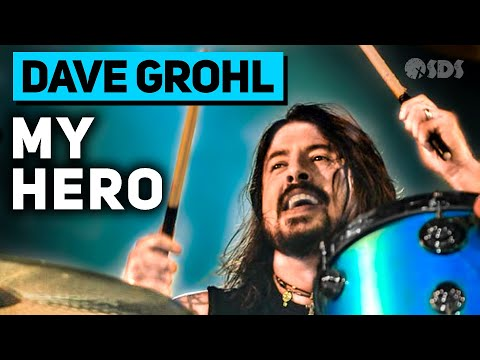 Dave Grohl - My Hero - Foo Fighters (DRUM LESSON)