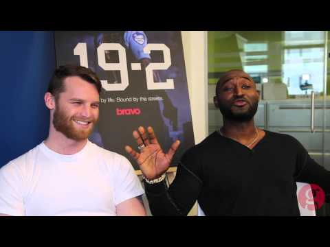 Jared Keeso & Adrian Holmes on '19-2'