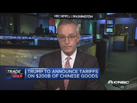 Trump's $200 billion tariffs on Chinese goods is 'done deal'