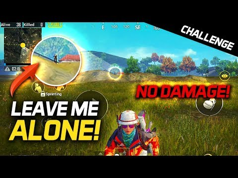 TRYING FOR CHICKEN DINNER With NO DAMAGE! - PUBG Mobile Challenge