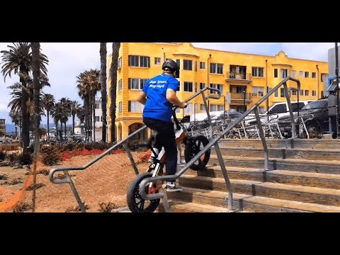 An E-Bike Can Go Upstairs?! How Powerful The SDREAM E-Bike Is