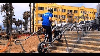 An E-Bike Can Go Upstairs?! How Powerful the SDREAM E-Bike is!