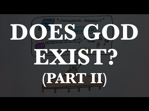 The Cosmological Argument for God's existence, summarized and critiqued in 4 minutes