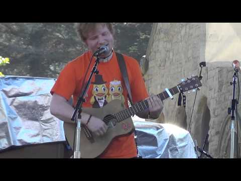 Ed Sheeran - You Need Me, I Don't Need You/My Eyes Are Red - CA - September 30, 2012