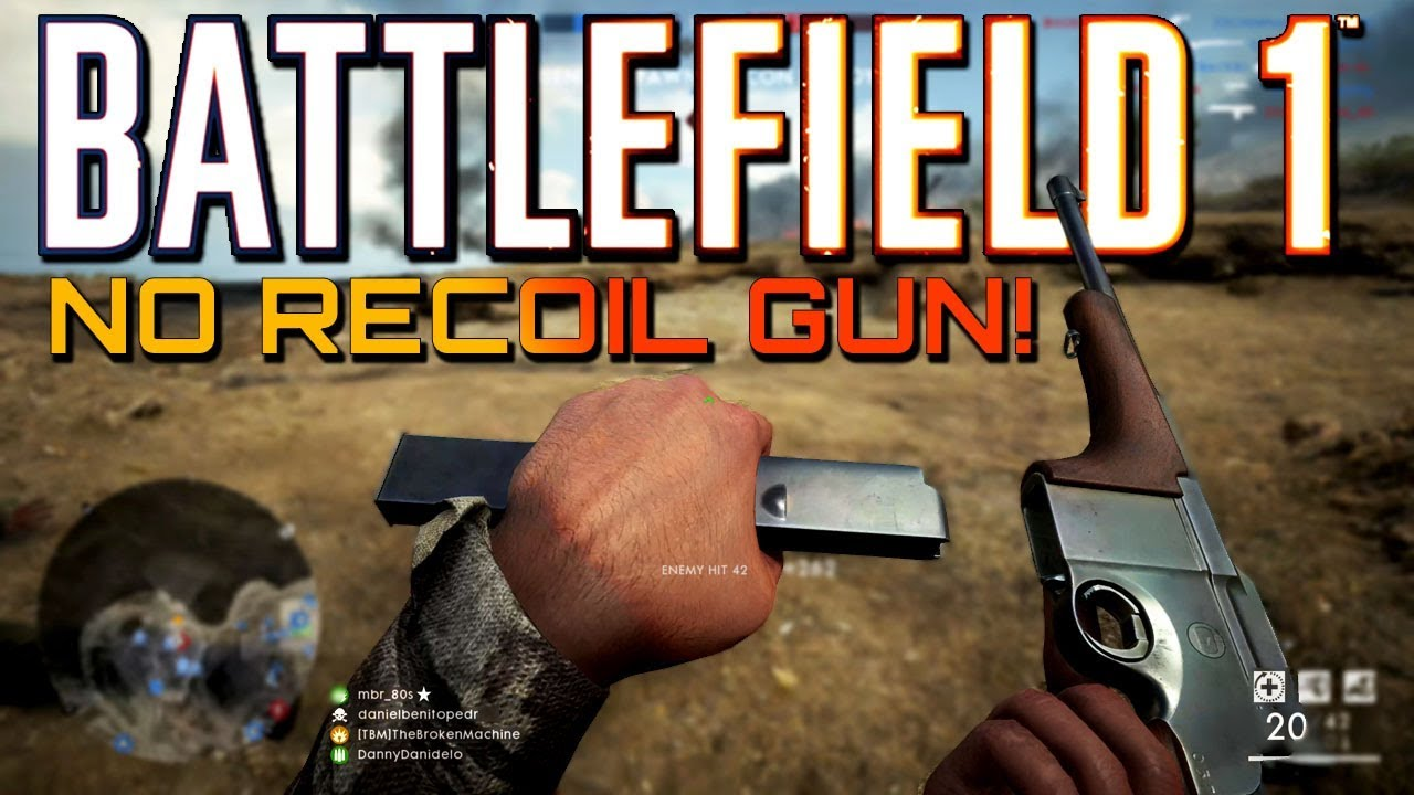 Battlefield 1: The No Recoil Gun! Turning Tides DLC (PS4 PRO Multiplayer  Gameplay)